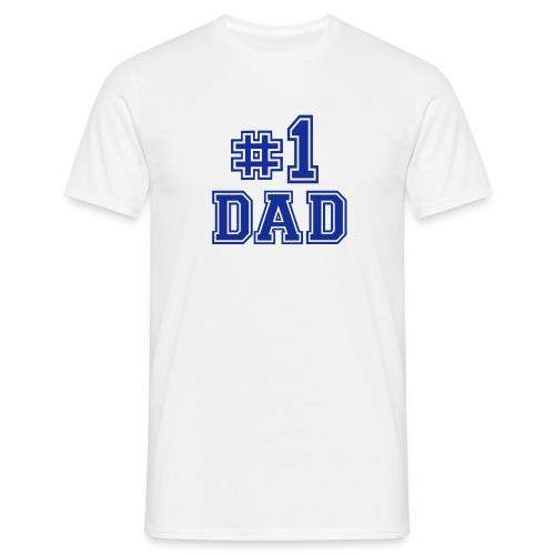 1 Dad t-skjorte - T-skjorte for menn