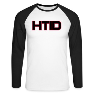 HTID - Men's Raglan Long Sleeve Light T-Shirt - Men's Long Sleeve Baseball T-Shirt