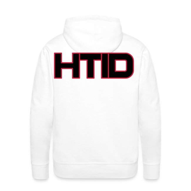 0152c265cae HTID - Men s White Hoodie