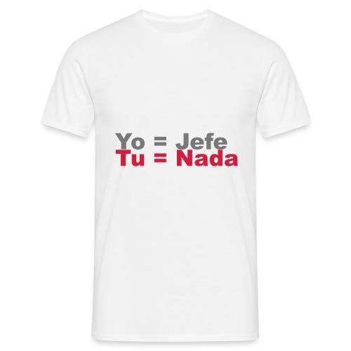 camiseta jefe sepa - Camiseta hombre