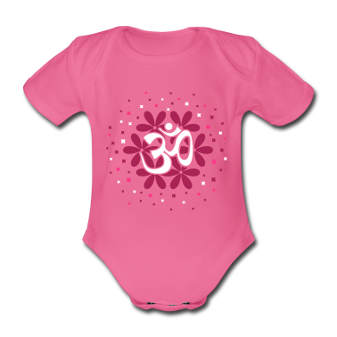 The Om flower bouquet Baby Bodysuits