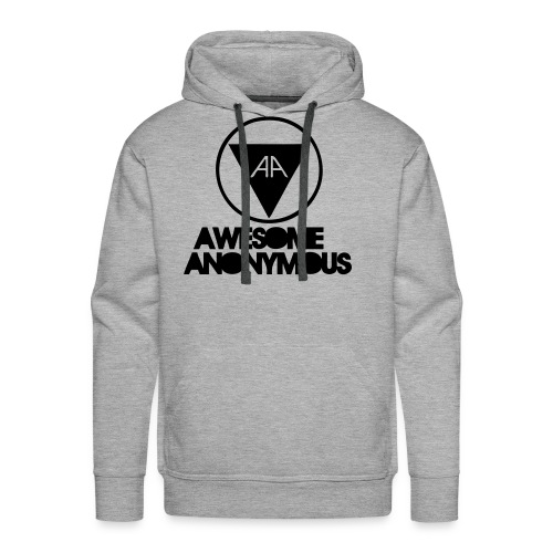 Awesome anonymous hoodie - Premiumluvtröja herr