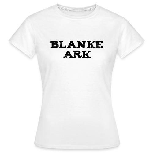 ===== Blanke Ark ===== Dameskjorte - Kvit - T-skjorte for kvinner