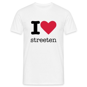 i love streeten - Men's T-Shirt