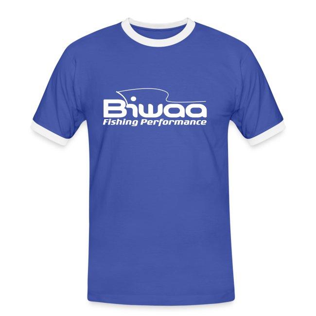 T-Shirt Homme Biwaa logo blanc