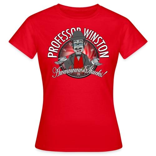 Winston Shucks Red - Women's Shirt - Women's T-Shirt