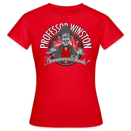Winston Shucks Red - Women's Shirt - Women's T-Shirt