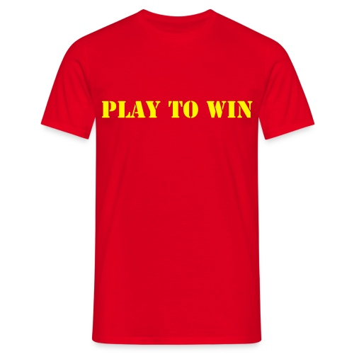 Play to win - Men's T-Shirt