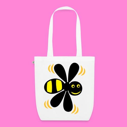 Bee happy bag - Bio stoffen tas