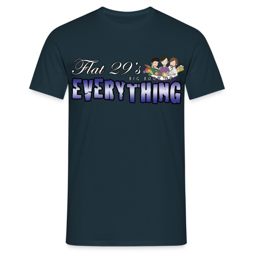 Flat 29 Logo - Men's Shirt - Men's T-Shirt