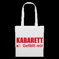 Taschen & Rucksäcke ~ Stoffbeutel ~ Kabarett gefällt mir