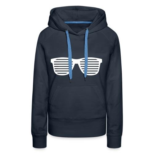 Sweat Glasses - Sweat-shirt à capuche Premium pour femmes