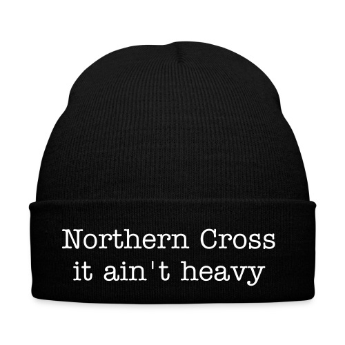 Woolly Hat - NX text & it ain't heavy - Winter Hat
