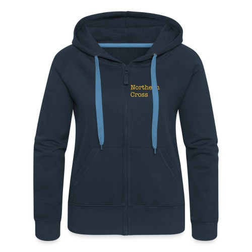 Women's Hooded Jacket - NX logo & words on back - Women's Premium Hooded Jacket