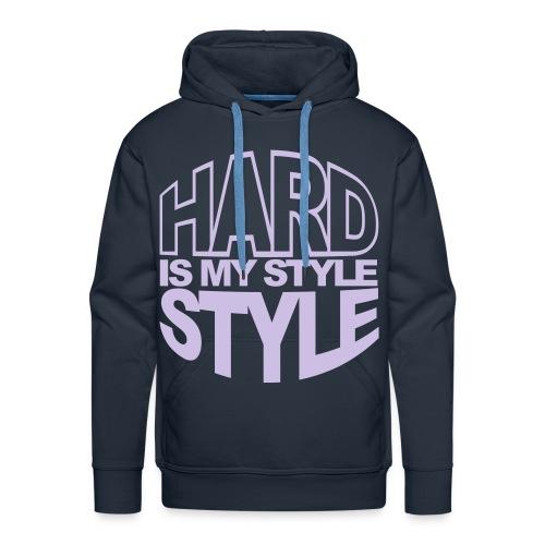 Hard man style - Premiumluvtröja herr