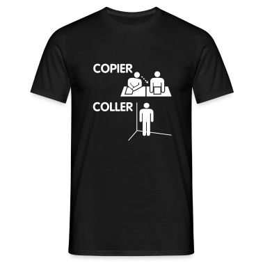 Copier, coller le t-shirt