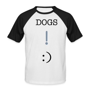 DOGS ! :) - Men's Baseball T-Shirt