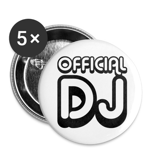 official DJ - Spilla piccola 25 mm