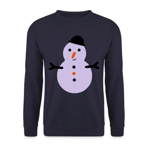 Weihnachten -  Schneemann - Männer Pullover