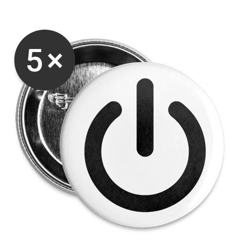 Badget allume moi  - Badge petit 25 mm