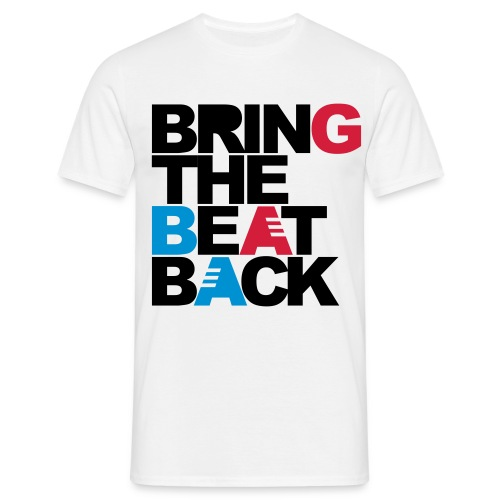 Bring the beat back T-shirt man - Men's T-Shirt