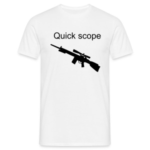 Quick scope - Men's T-Shirt