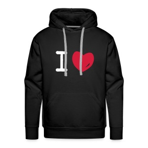 We Love Ice Freestyler Karlsruhe - Männer Premium Hoodie