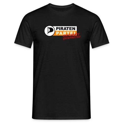 Geekpartei - Männer T-Shirt