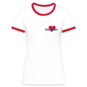 Siebenbürgen T-Shirt - Frauen Kontrast-T-Shirt