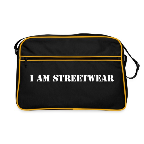 I am Streetwear - Bag in texture - Retroväska