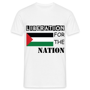 Liberation for the Nation - Men's T-Shirt