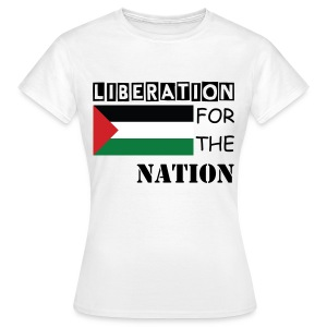 Liberation for the Nation (women) - Women's T-Shirt