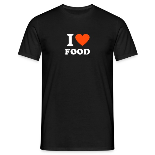 I hearl food - Men's T-Shirt