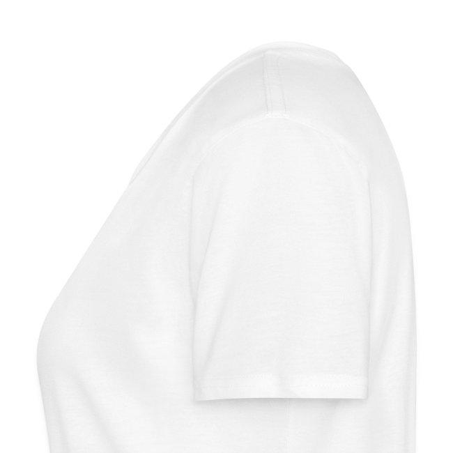 ÖkogeilTV Damen-Bio-Shirt weiß mit Logo