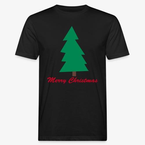 Merry Christmas - Männer Shirt KLIMANEUTRAL - Männer Bio-T-Shirt