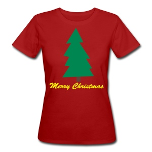 Merry Christmas - Frauen Shirt KLIMANEUTRAL - Frauen Bio-T-Shirt