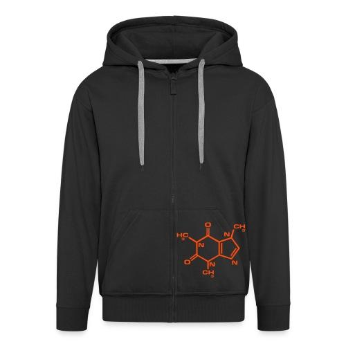 Caffeine - Men's Premium Hooded Jacket