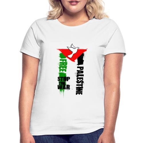Free Palestine - T-shirt Femme