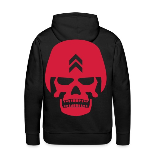 Crane armée - Sweat-shirt à capuche Premium pour hommes
