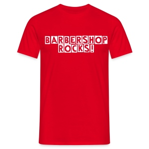 Barbershop rocks! Lead Men's T-Shirt - Männer T-Shirt