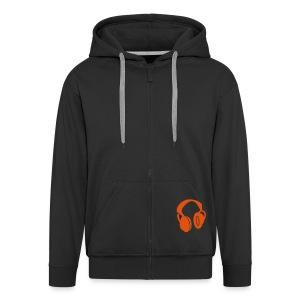 headphones - Men's Premium Hooded Jacket