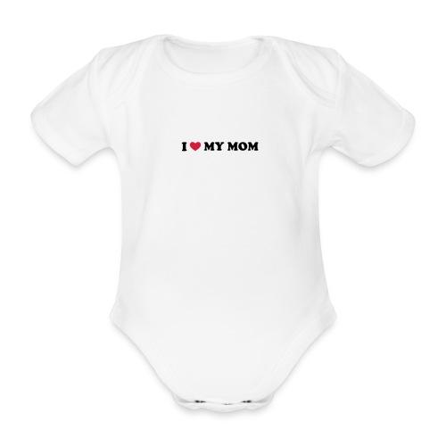 body I love - Body orgánico de maga corta para bebé