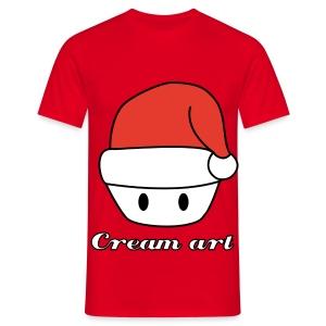 Tshirt Creamart noel Homme - T-shirt Homme