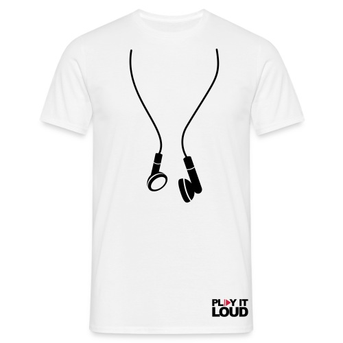 MUSIC play it out loud - Men's T-Shirt