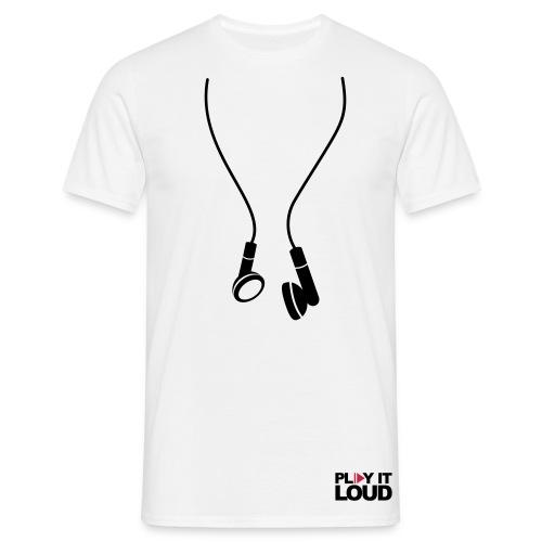 MUSIC play it out loud - Men's T-Shirt