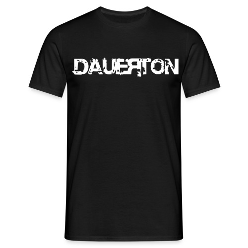 DauerClassicshirt mit Flockdruck! - Männer T-Shirt