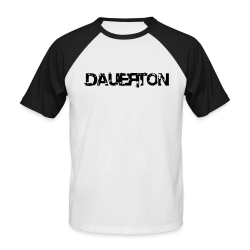 DauerBaseshirt mit Flockdruck! - Männer Baseball-T-Shirt