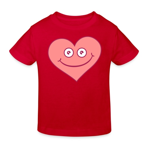 Happy Heart - Ekologisk T-shirt barn