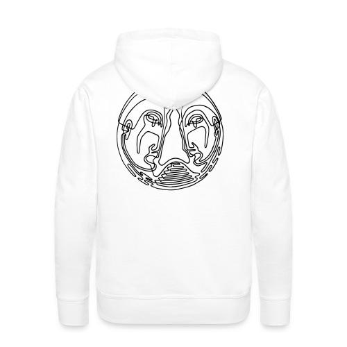 VARGO | Friendship (white) - Männer Premium Hoodie