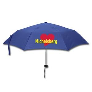 Herz Michelsberg - Siebenbürgen - Transylvania - Erdely - Ardeal - Transilvania - Romania - Rumänien - Regenschirm (klein)